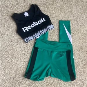 Reebok sports Bra and leggings